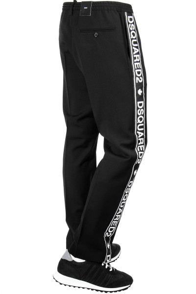 DSQUARED2 Wool Cady Gym Pants
