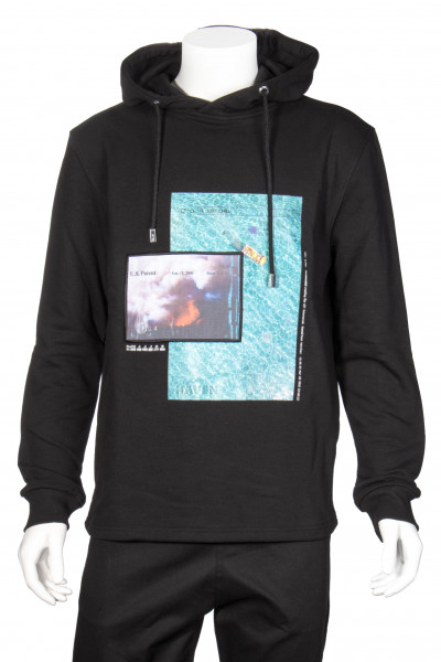 BLOOD BROTHERS Hoodie Just Chill Print
