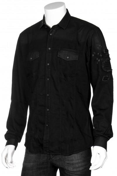 RH45 Shirt Leather Details
