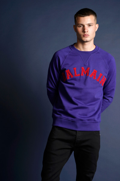 BALMAIN University Logo Sweatshirt