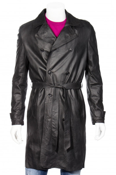 SALVATORE SANTORO Leather Coat