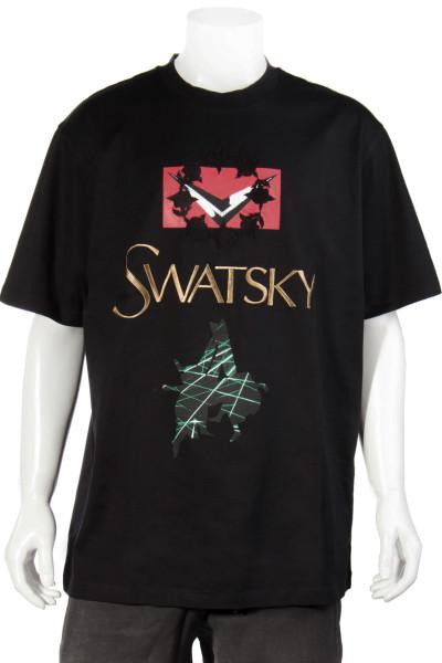 SWATSKY Oversized T-Shirt Printed