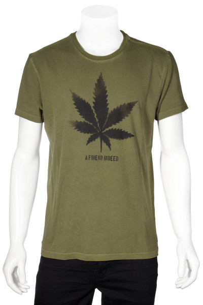 JOHN VARVATOS T-Shirt A Friend Indeed Print