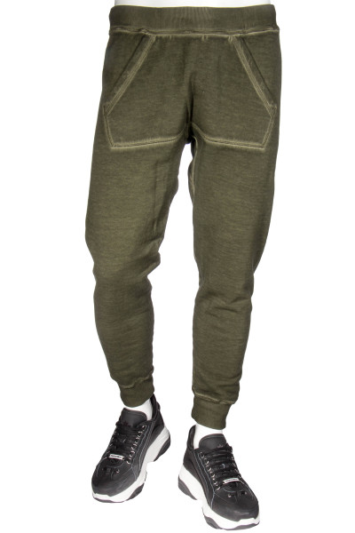 DSQUARED2 Sweatpants Kangaroo Pocket