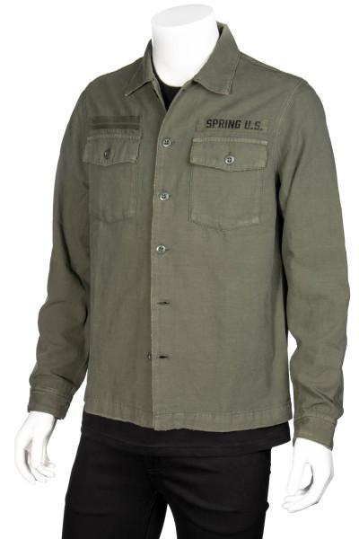 THE KOOPLES Military Overshirt