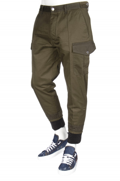 DSQUARED2 Cargo Cuffed Pants