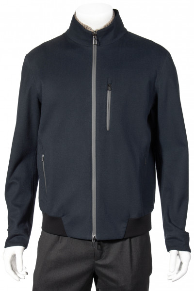 LORO PIANA Shieldey Bomber Cash Velvet Jacket
