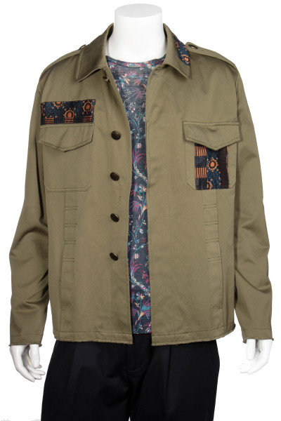 ETRO Safari Jacket With Contrasting Inserts