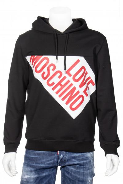 LOVE MOSCHINO Hoodie Printed Logo
