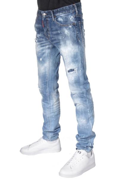 DSQUARED2 Slim Paint Wash Jeans