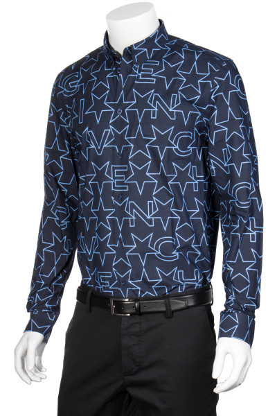 GIVENCHY Shirt Stars and Letters Print