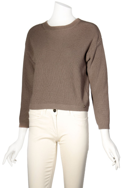 ELISABETTA FRANCHI Knit Sweater Cut Out