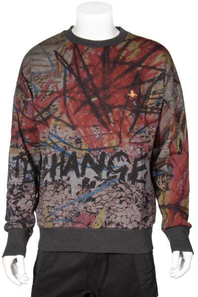 VIVIENNE WESTWOOD Graffiti Change Sweatshirt