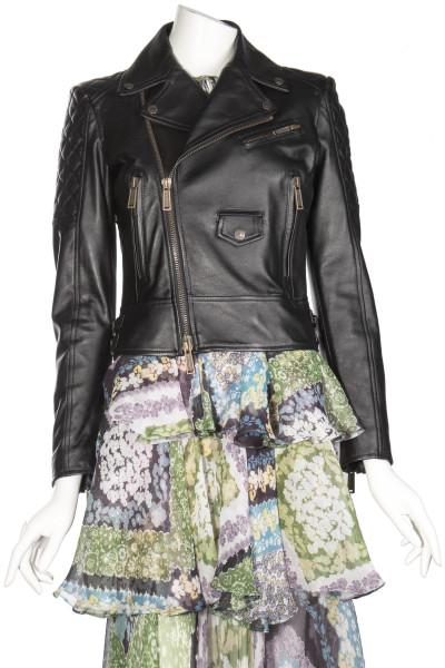 DSQUARED2 Biker Leather Jacket