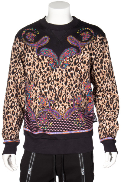 VERSACE JEANS COUTURE Pattern Mix Sweater