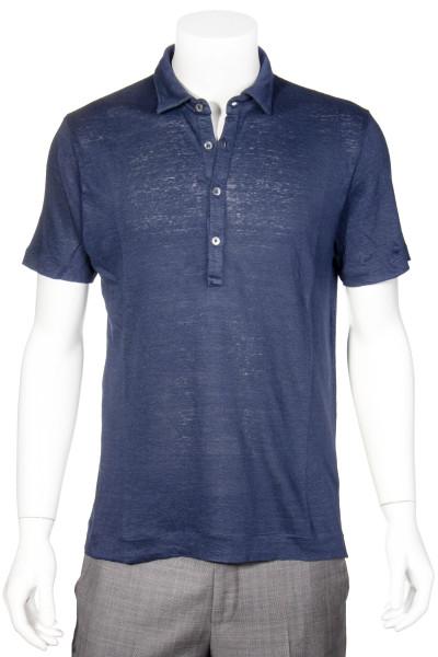 BOGLIOLI Linen Polo Shirt