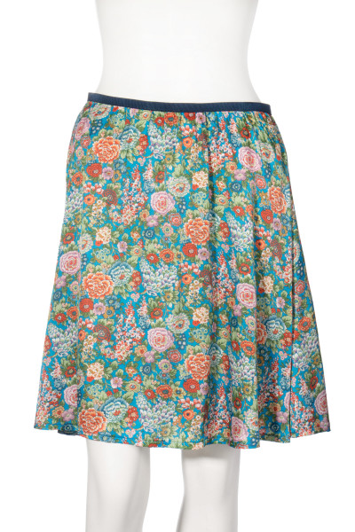 0039 ITALY Skirt Floral Print Marcella