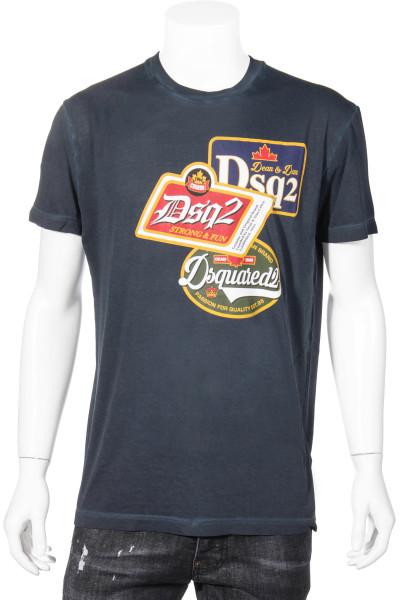 DSQUARED2 T-Shirt Vintage Logo Labels